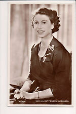 Vintage Postcard Elisabeth II Queen of the United Kingdom,