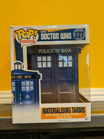 "Funko Pop Materialising Tardis LARGE 6"" #227 Doctor Who Vaulted Boxed"