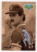1993 Pinnacle #303 TIM SALMON DWIGHT EVANS Boston Red Sox Rare IDOLS SUBSET CARD