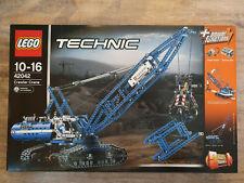 Großer LEGO Technic Seilbagger (42042) Crawler Crane - NEU und OVP