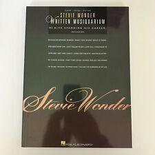 Stevie Wonder Written Musiquarium Piano Sheet Music Guitar Chords 41 Songs Book