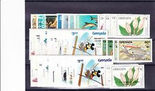 GRENADA VARIOUS UNMOUNTED COMMEMORATIVES SETS BETWEEN 1982-86 MNH.