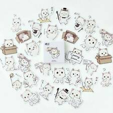 45Pcs/Box Cute Cat Sticker Stationery Stickers DIY Diary Album Label Decal Decor