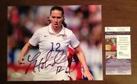 Lauren Holiday - 2015 Womens World Cup Champs USA Signed 8 X 10 Soccer JSA USA