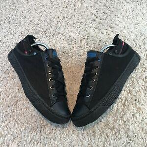 NEW Diesel Exposure Low I Mens Shoes UK 8 Eur 42 Black Trainers