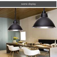 Modern Industrial Pendant Light Hanging Ceiling Metal Shade Loft Lamp Fixtures
