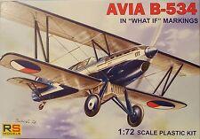 AVIA b-534 ' What If ', RS MODELS, 1:72 , escultura, NUEVO