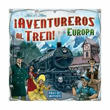 ¡aventureros al tren – juego de mesa (Edge Entertainment Edgdw7202)