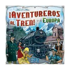 Juegos de mesa de aventureros al tren!, estrategia