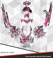 *NEW* SLED GRAPHIC KIT GRAPHICS WRAP FOR SKI-DOO XP MXZ 2008-2013 SA0537