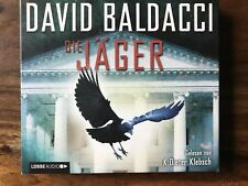 Hörbücher Krimis David Baldacci DIE JÄGER CD Box aus kompletter Sammlung
