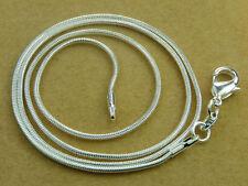 Markenlose versilberte Echtschmuck-Halsketten & -Anhänger