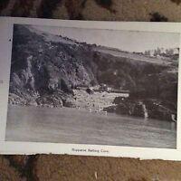 75-5 ephemera 1963 ilfracombe picture rapparee bathing cove