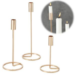14mm. Kerzenhalter f/ür Baumkerzen 10er Set Kerzent/üllen aus Metall Gold Kerzeneinsatz Tafelkerzen und Teelichter