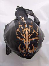 zandana bandana scorpion tribal orange simili cuir  biker, harley,moto choppers