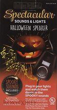 Halloween Home Accents 100 LED Orange/Purple Dual Color Changing Lights NIP