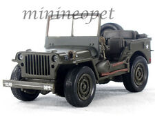 NEW RAY 54133 CITY CRUISER JEEP WILLYS MILITARY ARMY 1/32 DIECAST GREEN