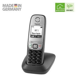 Gigaset Comfort schnurloses Telefon DECT Anthrazit-grau mit Freisprechfunktion