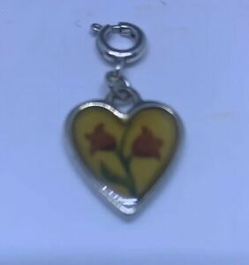 Brighton Heart Clip Dangle Passion Flower