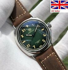 Steeldive SD1936 California Green-black Dial Watch, Auto NH35 WR 200m *UK Seller