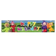 TELETUBBIES WALL DECORATION BANNER FOIL BIRTHDAY PARTY 2.7M