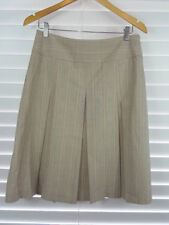 Cue Viscose Pleated Regular Size Skirts for Women