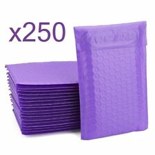 New listing 250 Bubble Mailers ~ Purple 6x10 ~ Packaging Shipping Supplies ~ Envelope