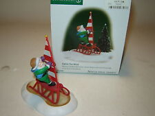 Dept 56 North Pole Accessory - Catch The Wind