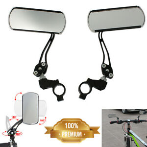 Beher Rotational Mirror Mini Bicycle Rearview Mirror for Road Bike Handlebar Rear Side Mirror