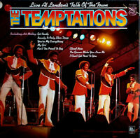 THE TEMPTATIONS ~ Live At London's Talk Of The Town ~ 1979 UK 12-track vinyl LP