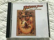 ~Indiana Jones & The Last Crusade~Soundtrack~Cd~Use d
