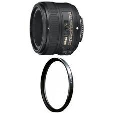 Nikon 50mm f/1.8G AF-S NIKKOR FX Lens with B+W 58mm Clear UV Haze