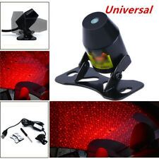 1*Red Car LED Decoration Light Inside Rooftop Ceiling Projector Lamp Starry Sky