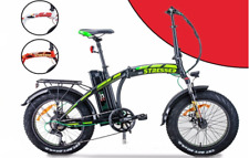 Bici elettrica pieghevole FAT BIKE 20 NCX STRESSED 250Watt 36V display LCD