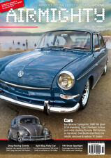 AIRMIGHTY MEGASCENE AIR COOLED VW LIFESTYLE MAGAZINE ISSUE #33