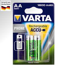 2x VARTA Phone Akku AA für Siemens Gigaset 3000 & 4000 Comfort wiederaufladbar