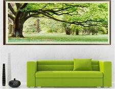 """NEW Cross Stitch Kits"""" Green Tree""""11CT:110cm x55cm"""
