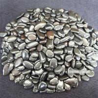 1/2lb Natural Tumbled Black Spinel Quartz Crystal Bulk Stones Reiki Healing