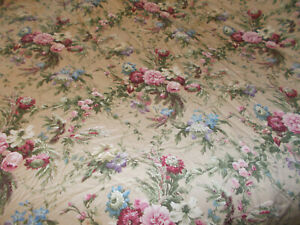 Rare RALPH LAUREN Adriana Floral Sateen King Comforter French Country Cottage