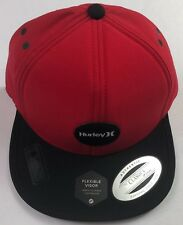 76fdcc76d3a Hurley Pacific Water Repellent Lightweight Red Black Hat Adjustable Strap  Hawaii