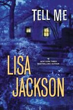 Tell Me by Lisa Jackson VG C (2013, Hardcover w/Dust Jacket)
