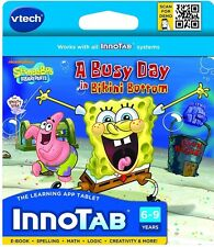 VTech - InnoTab Software - SpongeBob SquarePants , New, Free Shipping