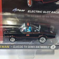 Auto World Slot Car Batman 1966 Batmobile Classic TV Series Bat Cave Car Robin