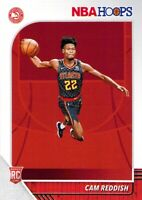 Cam Reddish RC 2019-20 Panini NBA Hoops Base Rookie Card #207 Atlanta Hawks NBA