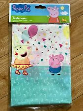 Peppa Pig Party Table Cover (180 x 120cm)