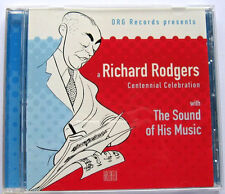 Richard Rodgers Centennial Celebration CD, 100th Birthday LN Condition Disk