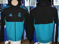 Real Madrid Adidas Champions League Edition 2017 Hooded Track Top Light Jacket