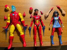 marvel legends iron heart lot