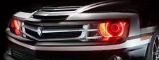 LED Headlights Light Halo Demon Eyes Pair Set Kit Chevy Camaro 2010-2013 - RED