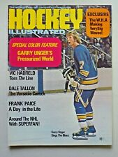 Vintage HOCKEY ILLUSTRATED Magazine March 1972 Gary Unger Blues Cover 282
